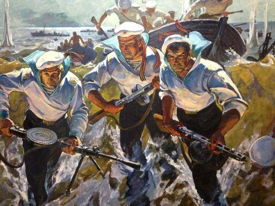 «Морская пехота»-Жураковский Виктор Петрович