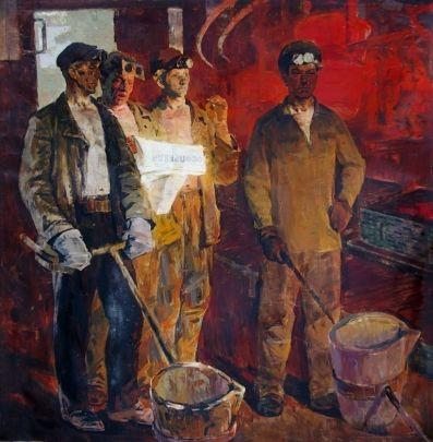 «В сталь-цехе» 1982 - Кузнецов Владимир Васильевич