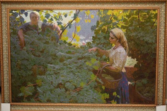 «Сбор винограда»-Давид Аурел
