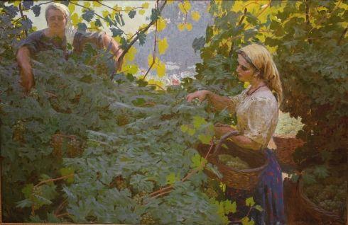 «Сбор винограда» 1959 - Давид Аурел