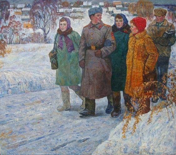 «В родном кругу» 1974 - Севостьянов Геннадий Кириллович