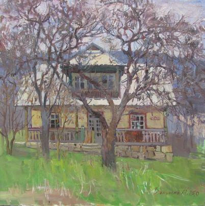 «Заброшенный дом» 2010 - Волошко Карина Николаевна