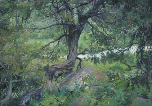 «В горах Тянь-Шаня , Ала-Арчинское ущелье» 2009 - Чернов Денис Валериевич