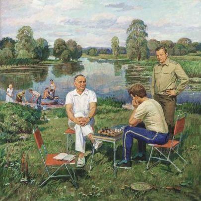 «После полета» 1983 - Шепетовский Виталий Яковлевич