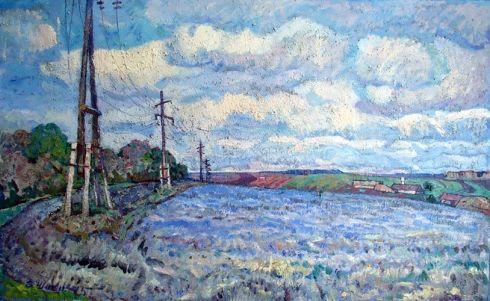 «Весеннее утро» 1975 - Швец Виктор Александрович