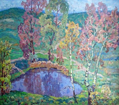 «Майское утро» 1983 - Швец Виктор Александрович