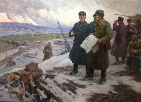 «Битва за Днепр. Генерал Армии Н.Ф. Ватутин» 1971 - Бондаренко Николай Игнатьевич