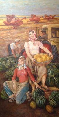 «Сбор урожая» 1972 - Луцкевич Юрий Павлович