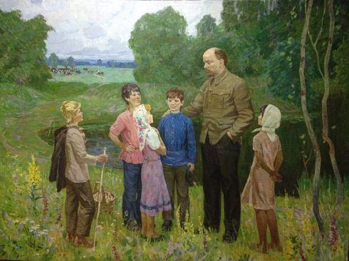 «Ленин и дети» 1968 - Базилянский Эдуард Иосифович