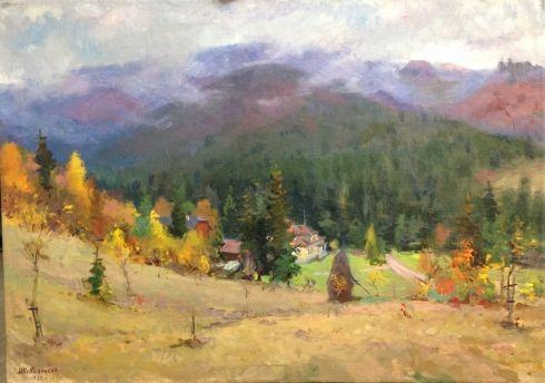 «Карпаты. Осень» 1962 - Кобыленков Михаил Васильевич