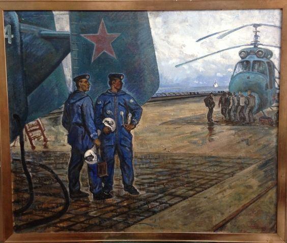 «Вертолетчики ВМФ»-Севостьянов Геннадий Кириллович