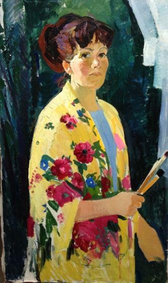 «Автопортрет» 1967 - Титова Ольга Геннадьевна