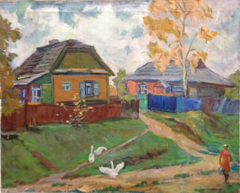«Деревня» 1960 е - Усикова Евдокия Григорьевна