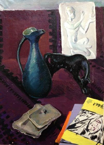 «Натюрморт с кувшином» 1968 - Титова Ольга Геннадьевна