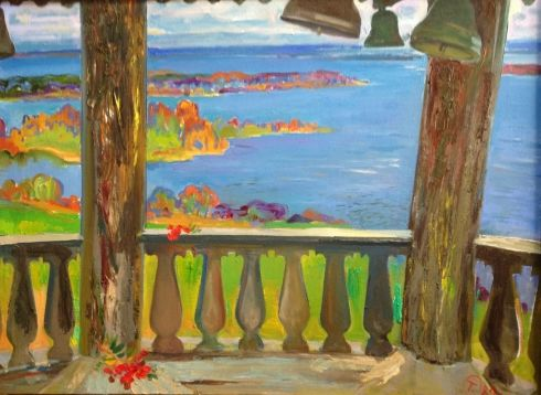 «Осень в Кижах» 1989 - Титова Ольга Геннадьевна