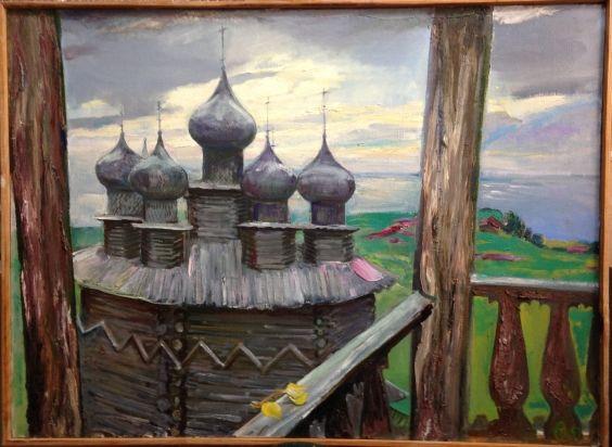 «Кижи. Покровская церковь»-Титова Ольга Геннадьевна