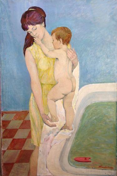 «Мать и дитя» 1971-1972 - Титова Ольга Геннадьевна