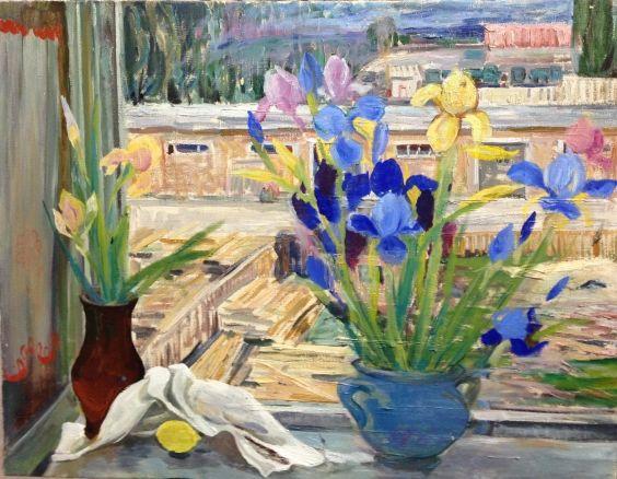 «Цветы на окне» 1970 е - Титова Ольга Геннадьевна