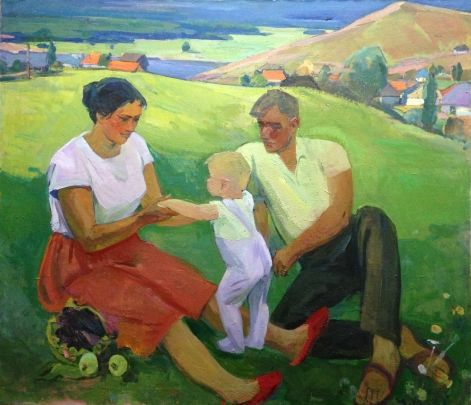 «Семья» 1970 - Усикова Евдокия Григорьевна