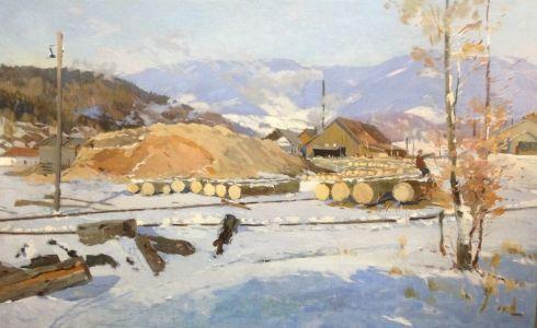 «Лесопилка. Ужгород» 1959 - Кашшай Антон Михайлович