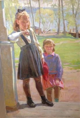 «Дети» 1950 е - Савич Марк Дмитриевич