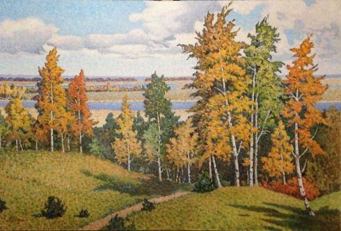«Осень» 1980 е - Сабадыш Петр Евлампиевич
