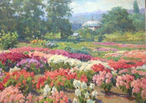 «Киевский ботанический сад» 1963 - Костенко Федор Тимофеевич