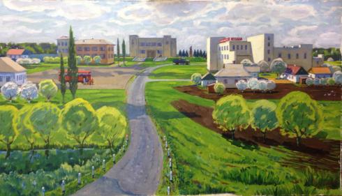 «Весна в Тарасовке» 1988 - Мацегора Григорий Прокопович