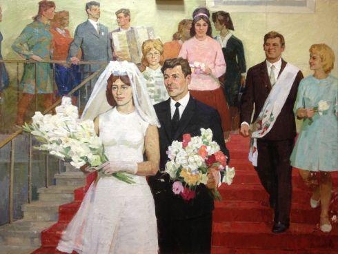 «Заводская свадьба» 1970 - Солодовников Алексей Павлович