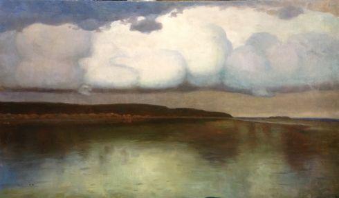 «Притихло» 1958 - Довженко Анатолий Иванович
