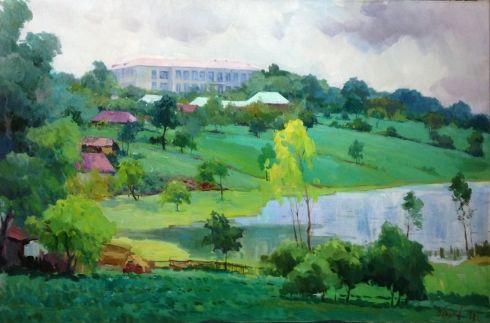 «Лето в селе Чечеливка» 1977 - Пирогов Виктор Владимирович