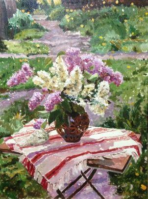 «Сирень в саду» 1980 е - Торбич Александр Николаевич