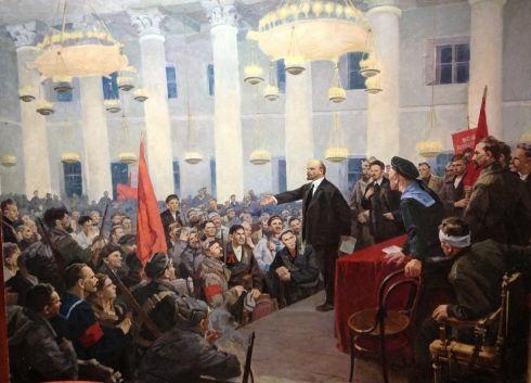 «Выступление В.И. Ленина на II Всероссийском съезде Советов». 1971 - Рябоконь Григорий Анисимович