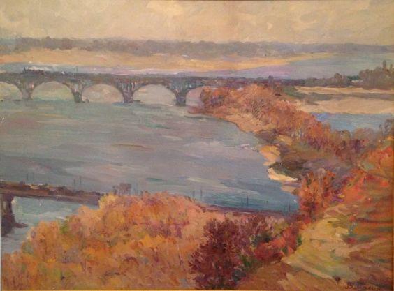 «Киевские мосты» 1959 - Масик Владимир Ильич