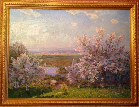 """Blooming garden""-Khodchenko Lev Pavlovich"