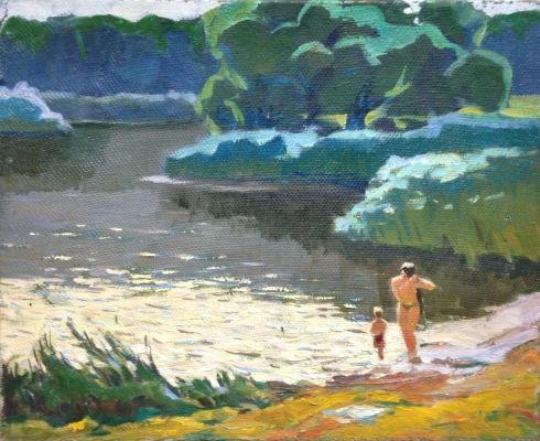 «Лето на Южном Буге» 1970 е - Бессараба Леонид Павлович