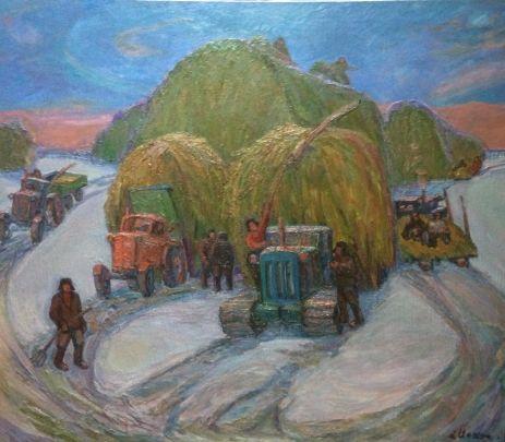 «Везут сено» 1979 - Илюшин Алексей Андреевич