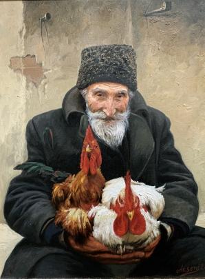 «Старик продающий петухов» 2009 - «Старик продающий петухов»