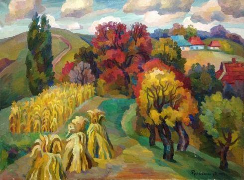 «Осень» 1976 - Рудаметкин Виктор Петрович