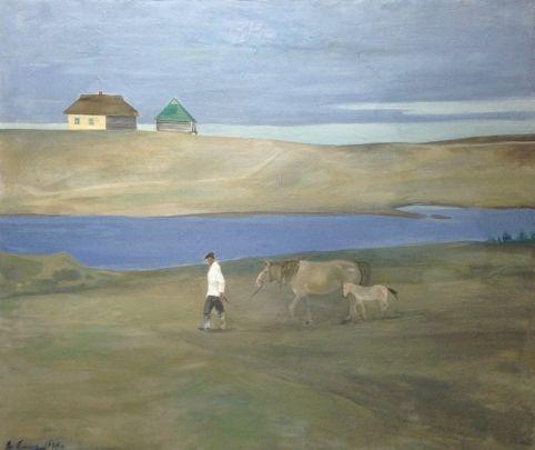 «На околице» 1968 - Емец Владимир Владимирович