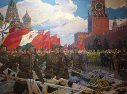 «Парад 1945 го» 1968 - Бабак Петр Иванович