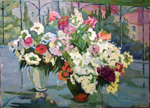 «Цветы на балконе» 1970 е - «Цветы на балконе»