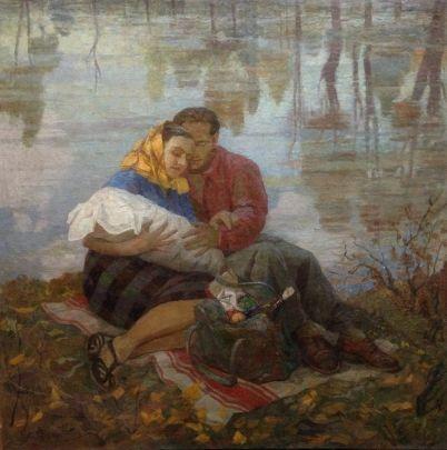 «Семья» 1960 е - Басанец Петр Алексеевич