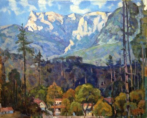 «Утро в горах» 1980 - Швец Виктор Александрович