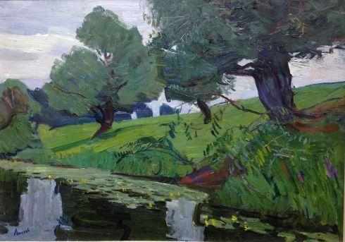 «У озера» 1963 - Лопухов Александр Михайлович