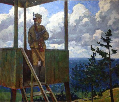 «На посту» 1983 - Смирнов Василий Валентинович