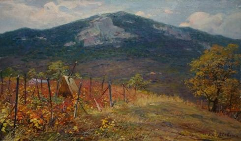 «Крымские виноградники» 1970 е - Севец Виктор Степанович