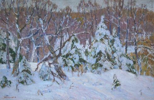 «Зима» 1970 е - Толпекин Георгий Владимирович
