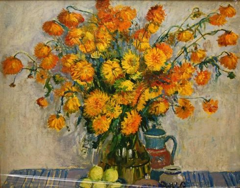 «Желтые цветы» 1970 е - Максименко Николай Антонович