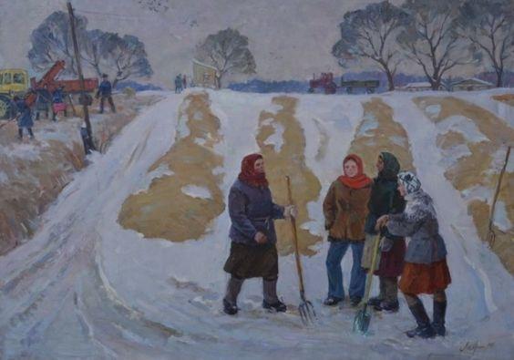 «На зимних буртах» 1980 - Лавриненко Вячеслав Иванович
